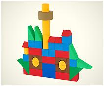 Navio - Arquitetura (49 peças)
